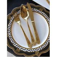 San Marino Gold 84 Parça Çatal Bıçak Takımı